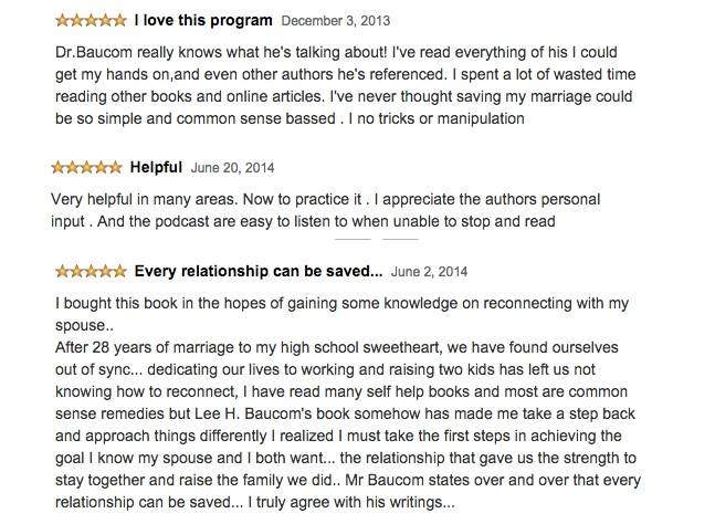 Save The Marriage System Testimonies
