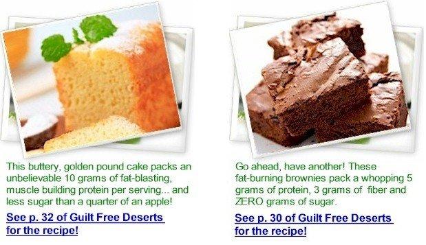 Guilt Free Desserts Kelley