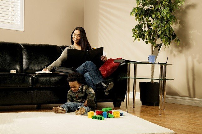 Jobs for stay at home moms and dads