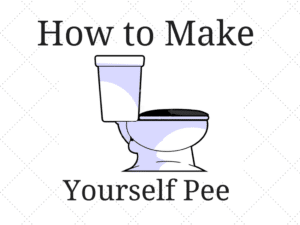How to make yourself pee